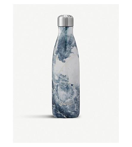 SWELL Blue granite water bottle 710ml (Blue+granite