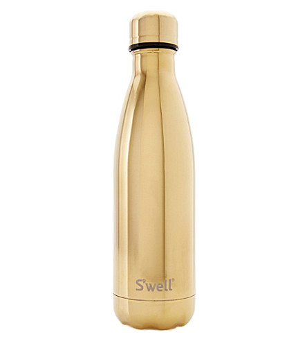 SWELL Yellow Gold stainless steel water bottle 500ml
