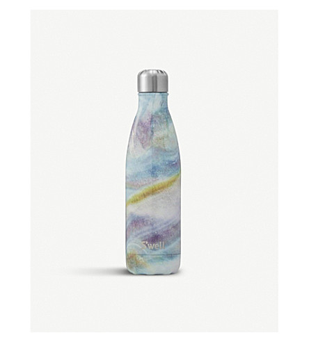 SWELL Mother of pearl water bottle 480ml