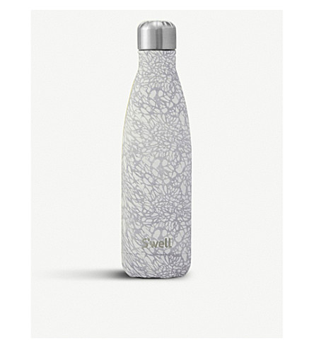 SWELL White lace water bottle 480ml (White+lace