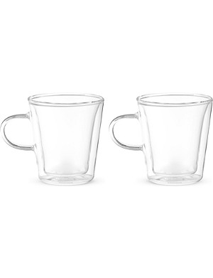 BODUM Canteen set of two double-walled glasses