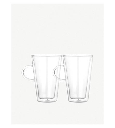 BODUM 食堂双层眼镜大 x 2