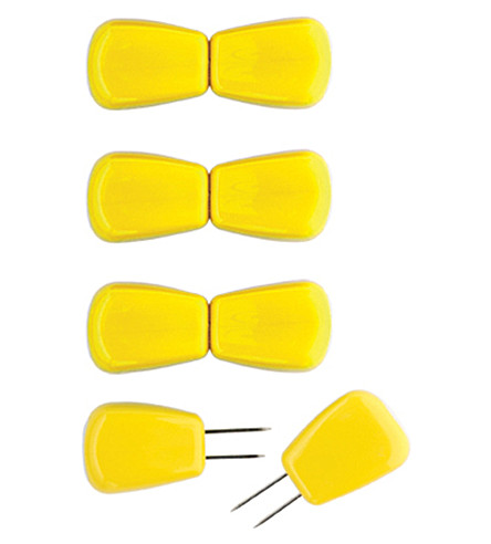 CHEF'N Set of four Corn Cob holders