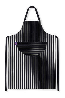 DEXAM Long adult classic butcher's stripe apron