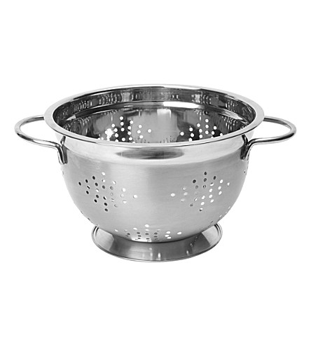 CHEF'N Stainless steel footed colander 22cm