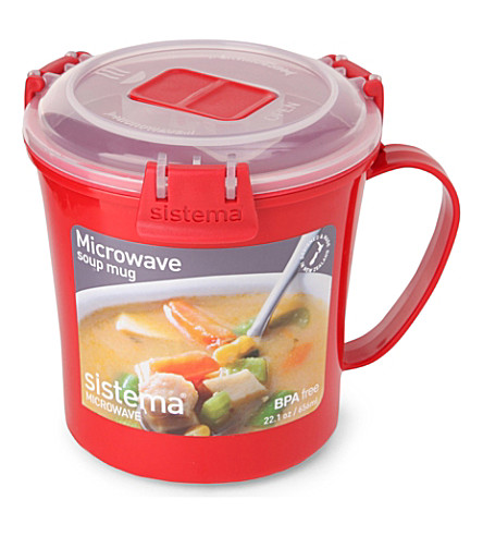 SISTEMA Microwave soup mug 656ml