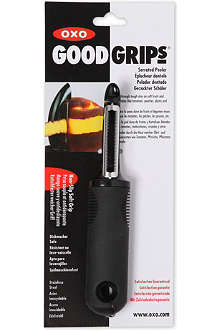 GOOD GRIPS Serrated peeler