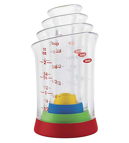 GOOD GRIPS Mini measuring beakers