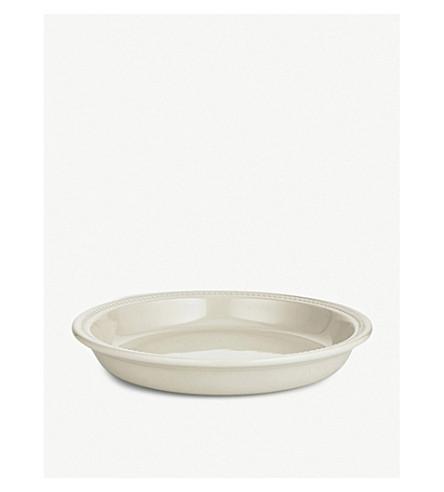 LE CREUSET Stoneware pie dish 24cm (Almond