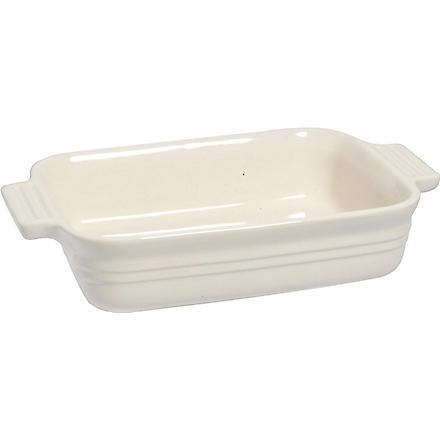 LE CREUSET Stoneware rectangular dish 19cm (Almond