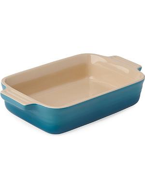 LE CREUSET Stoneware rectangular dish 19cm