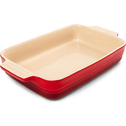 LE CREUSET Stoneware rectangular dish 26cm (Cerise