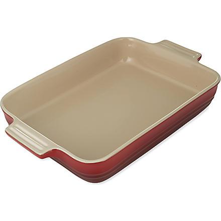 LE CREUSET Stoneware rectangular dish 32cm (Cerise