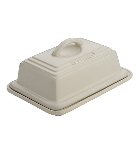 LE CREUSET Stoneware butter dish (Almond
