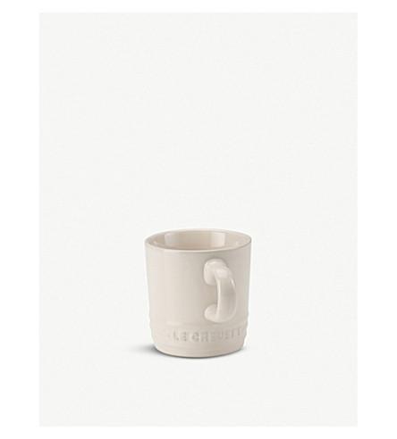 LE CREUSET Stoneware espresso mug (Almond