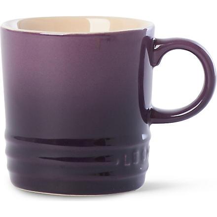 LE CREUSET Stoneware espresso mug (Cassis