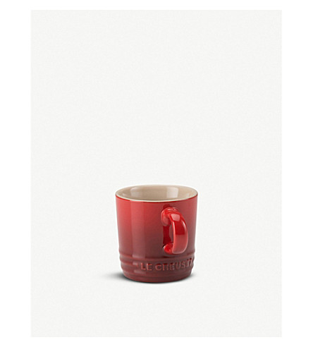LE CREUSET Stoneware espresso mug (Cerise
