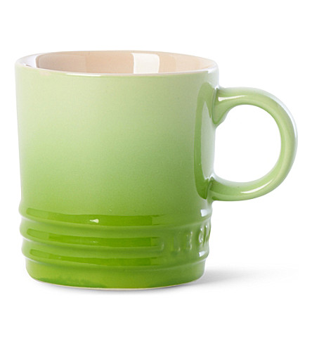 LE CREUSET Stoneware espresso mug (Kiwi