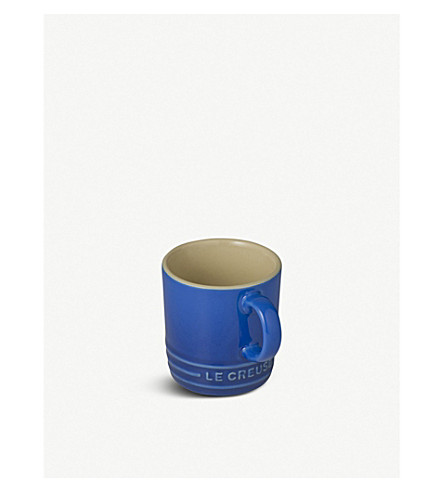 LE CREUSET 浓咖啡杯 (马赛 + 蓝)