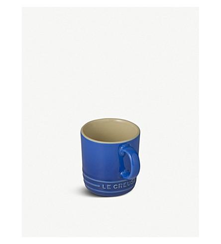 LE CREUSET Stoneware espresso mug (Marseille+blue