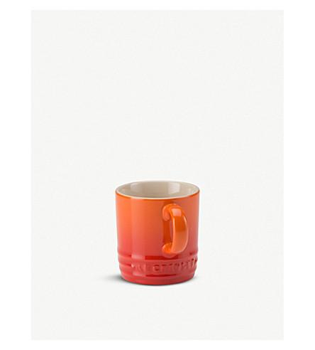 LE CREUSET Stoneware espresso mug (Volcanic