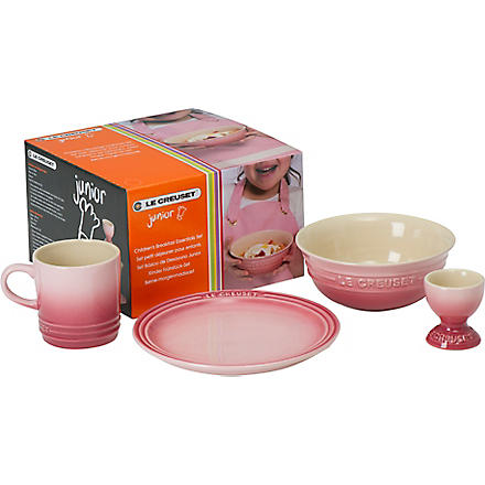 LE CREUSET Junior breakfast essentials set (Pale+rose