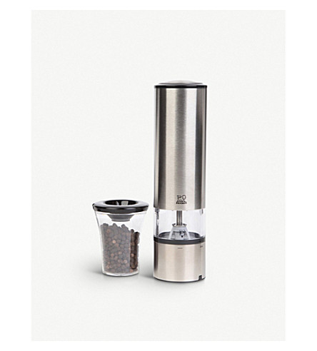 PEUGEOT Elis Sense U'Select stainless steel electric pepper mill 20cm