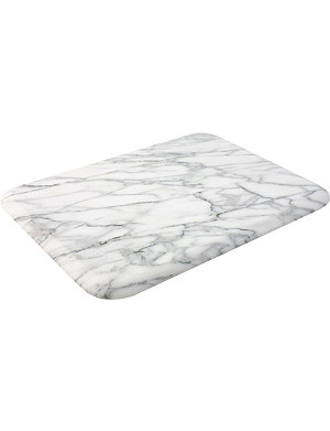 T&G WOODWARE White marble rectangular board