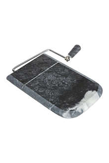 T&G WOODWARE Black marble cheese slicer