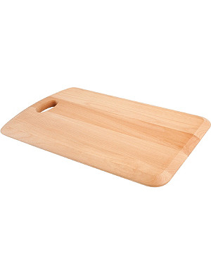 T&G WOODWARE Large handled chopping board