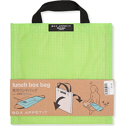 BLACK+BLUM Box Appetit bag (Lime