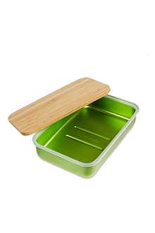 BLACK+BLUM Aluminium box and bamboo lid