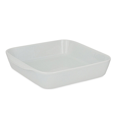 PILLIVUYT Large square porcelain baking dish No 3 22cm