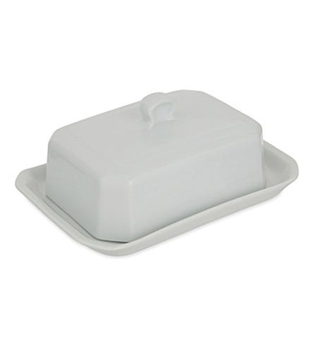 PILLIVUYT Porcelain butter tray 18.5cm