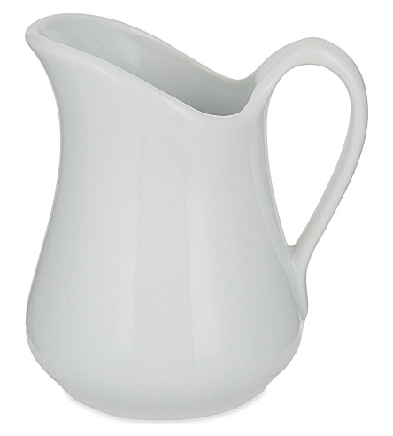 PILLIVUYT Mehun No 3 porcelain milk jug 19 oz.