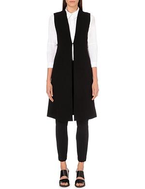 ALICE & OLIVIA Tailored crepe waistcoat