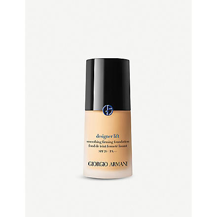 GIORGIO ARMANI Designer Lift foundation SPF 20 (02