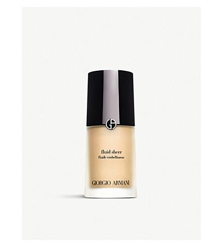 GIORGIO ARMANI Fluid Sheer Skin Illuminator (1