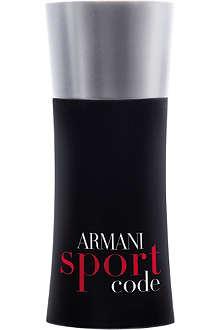 ARMANI Armani Code Sport eau de toilette 125ml