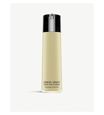 GIORGIO ARMANI Crema Nera Extrema gel in oil cleanser 150ml