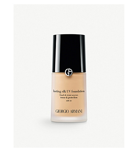 GIORGIO ARMANI Lasting Silk UV foundation SPF 20 (02