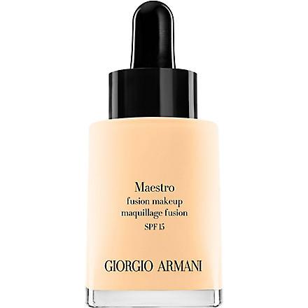 GIORGIO ARMANI Maestro Fusion foundation (02