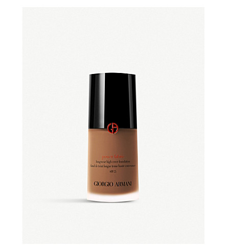 GIORGIO ARMANI Power Fabric Foundation (11