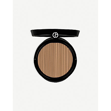 GIORGIO ARMANI Sun Fabric powder bronzer (100
