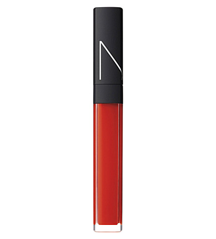 NARS High-shine lip gloss (Bright orange-red