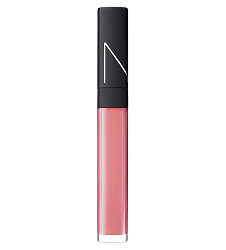 NARS High-shine lip gloss (Pink cantaloupe