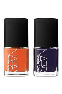 NARS Pierre Hardy for NARS Ethno Run nail polish duo