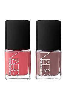 NARS Pierre Hardy for NARS Vertebra nail polish duo
