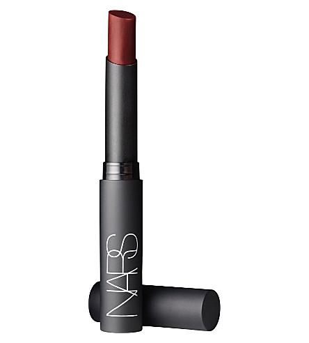 NARS Pure Matte lipstick (Garnet red