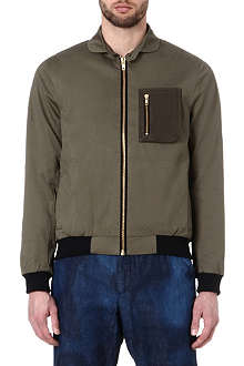 OLIVER SPENCER Fisher cotton jacket